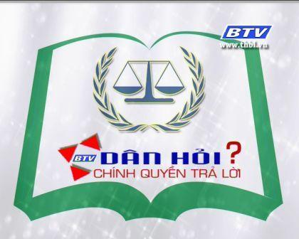 Dân hỏi – Chính quyền trả lời kỳ 5/2012