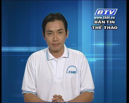 Bản tin thể thao 24/8/2012