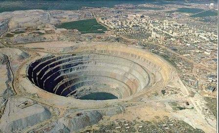 Bí ẩn núi kim cương ở Nga