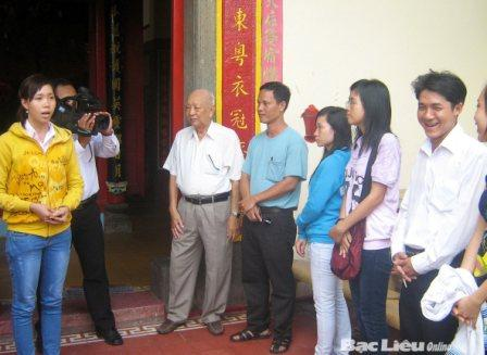 Thiên Hậu Cung: Di tích kiến trúc tôn giáo đặc sắc của người Hoa Bạc Liêu