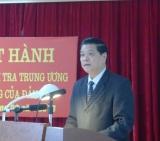 Công bố phát hành Trang thông tin điện tử Ủy ban Kiểm tra Trung ương