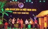 Tham gia Liên hoan dân ca, dân nhạc, dân vũ 2013: Bạc Liêu được chọn công diễn tại vòng chung kết toàn quốc