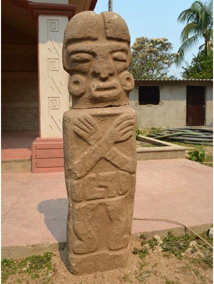 Phát hiện một bức tượng đá granite cổ tại Mexico