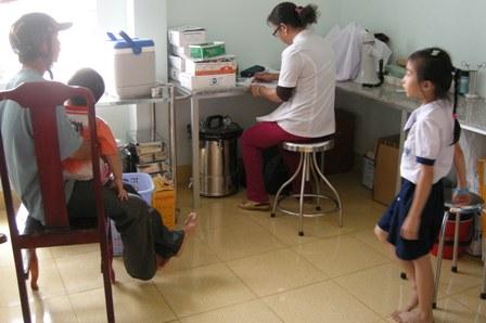 Tập trung đối phó với nguy cơ bệnh dịch sởi bùng phát