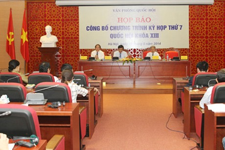 Khai mạc kỳ họp thứ 7 Quốc hội khóa XIII