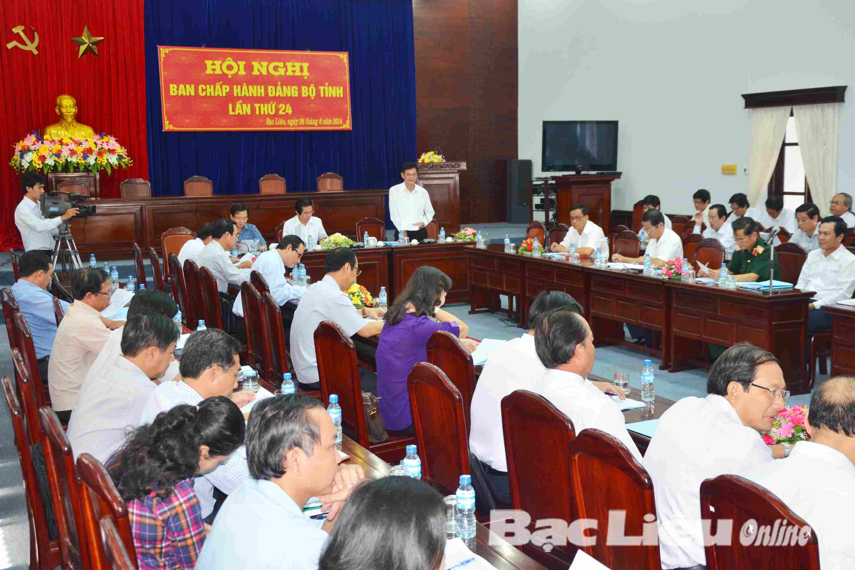 Hội nghị BCH Đảng bộ tỉnh lần thứ 24: Tăng trưởng kinh tế 6 tháng đầu năm giữ ở mức cao