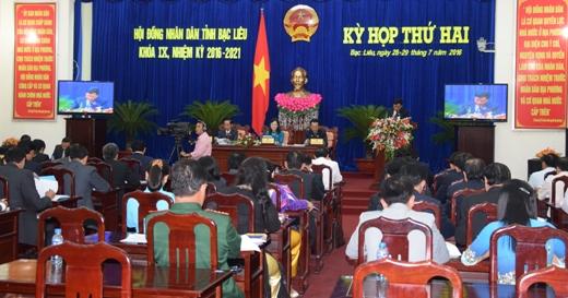 Nhiều vấn đề cử tri quan tâm được trả lời cụ thể tại Kỳ họp lần thứ hai HĐND tỉnh khóa IX