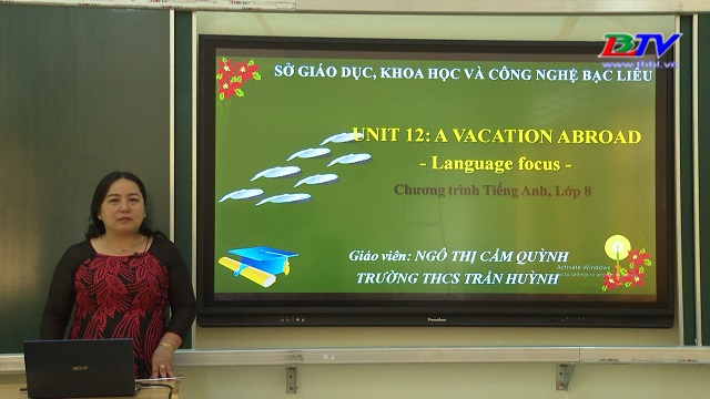 Tiếng Anh 8 – Unit 12: A vacation Abroad – 20/5/2020