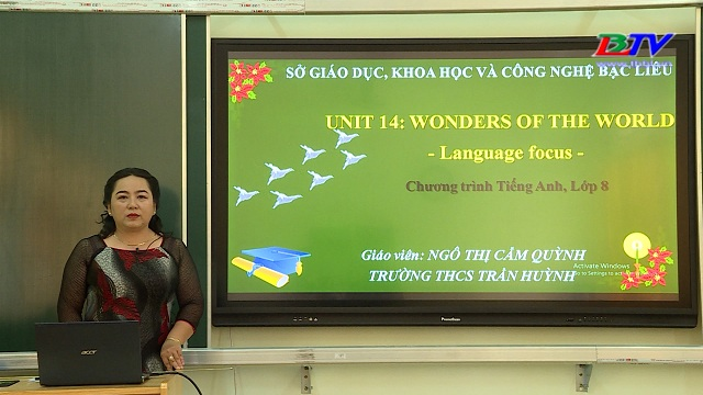 Tiếng Anh 8 – Unit 14: Wonders of the world – 09/6/2020