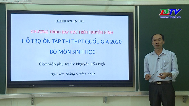 Sinh học: Hỗ trợ ôn tập thi THPT quốc gia 2020 – 23/06/2020